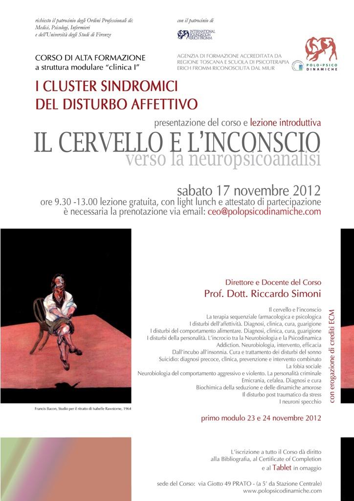 presentazione 17 novembre 2012 cluster sindromici del disturbo affettivo