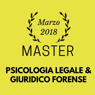 Master in Psicologia Legale e Giuridico Forense