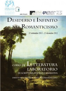 CORSO LETTERATURA E SCRITTURA CREATIVA 2012-2013