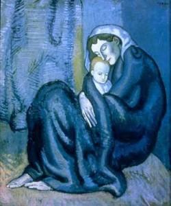 7.07.2012 Seminario Il lutto e l'assenza in letteratura Mad_picasso-madre-250x300